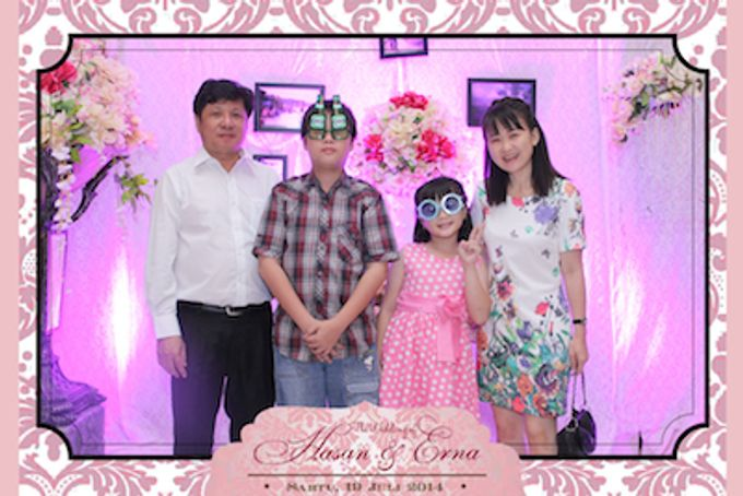 The Wedding of Hasan & Erna by After 5 Photobooth - 007
