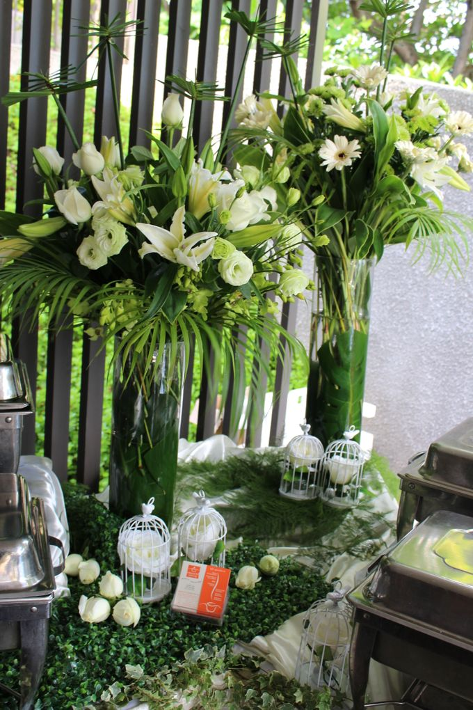 Tropical Rainforest Reception by Manna Pot Catering - 005