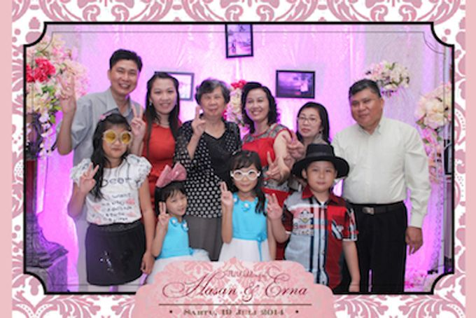 The Wedding of Hasan & Erna by After 5 Photobooth - 009