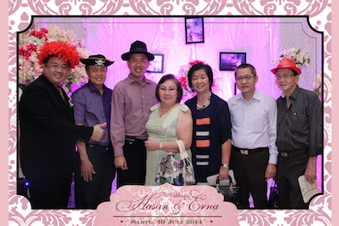 The Wedding of Hasan & Erna by After 5 Photobooth - 011