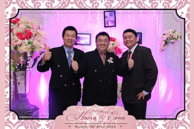 The Wedding of Hasan & Erna by After 5 Photobooth - 012