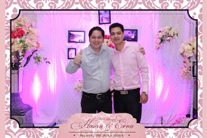 The Wedding of Hasan & Erna by After 5 Photobooth - 013