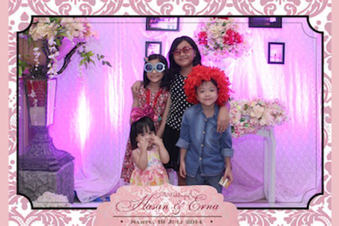 The Wedding of Hasan & Erna by After 5 Photobooth - 014