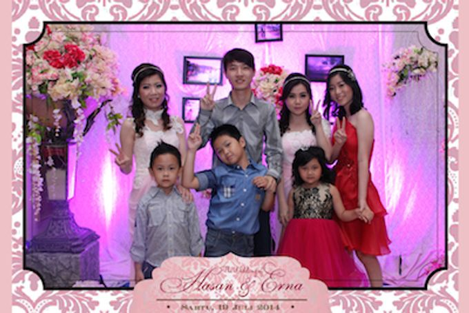 The Wedding of Hasan & Erna by After 5 Photobooth - 017