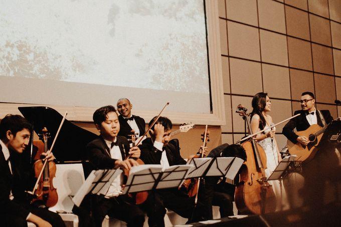 Windsor & Gabriela Wedding at Fairmont Hotel Jakarta by Gio Music Entertainment - 003