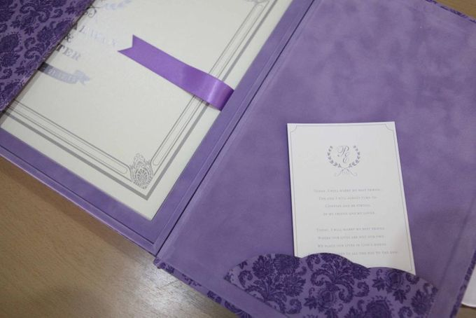 The Wedding of Phinarwan & Ester by PAM'S INVITATIONS & STATIONERY - 008