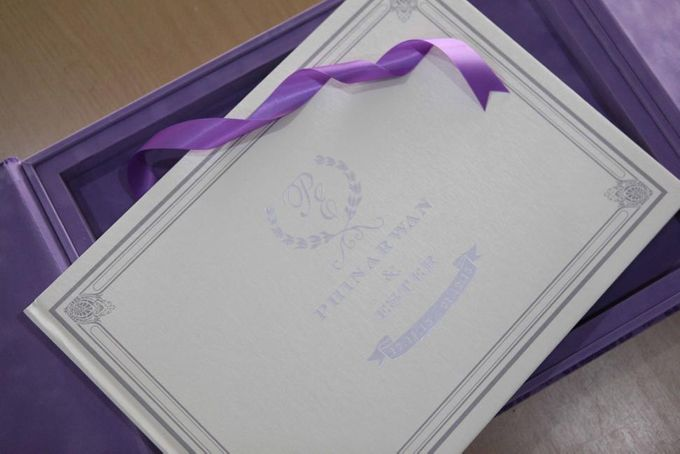 The Wedding of Phinarwan & Ester by PAM'S INVITATIONS & STATIONERY - 007