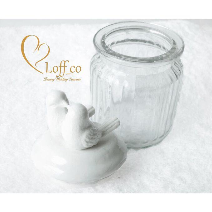 Luxury Crystal Grid & Ceramic Jar by Loff_co souvenir - 001