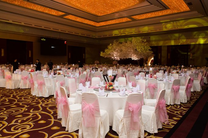 The wedding of Jimmy & Shirley Suncity ballroom by The Swan Decoration - 010