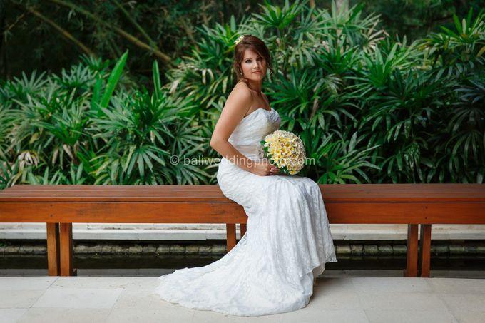 Simple Wedding Len & Marina by D'studio Photography Bali - 008