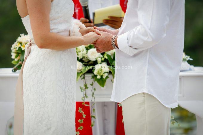 Simple Wedding Len & Marina by D'studio Photography Bali - 014