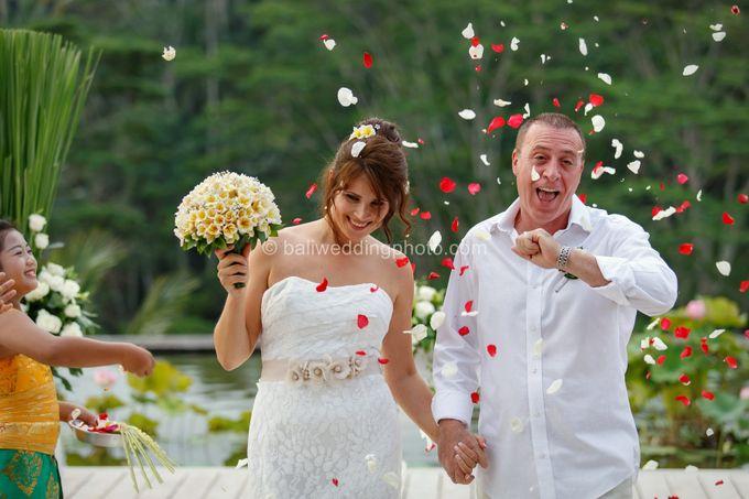 Simple Wedding Len & Marina by D'studio Photography Bali - 021