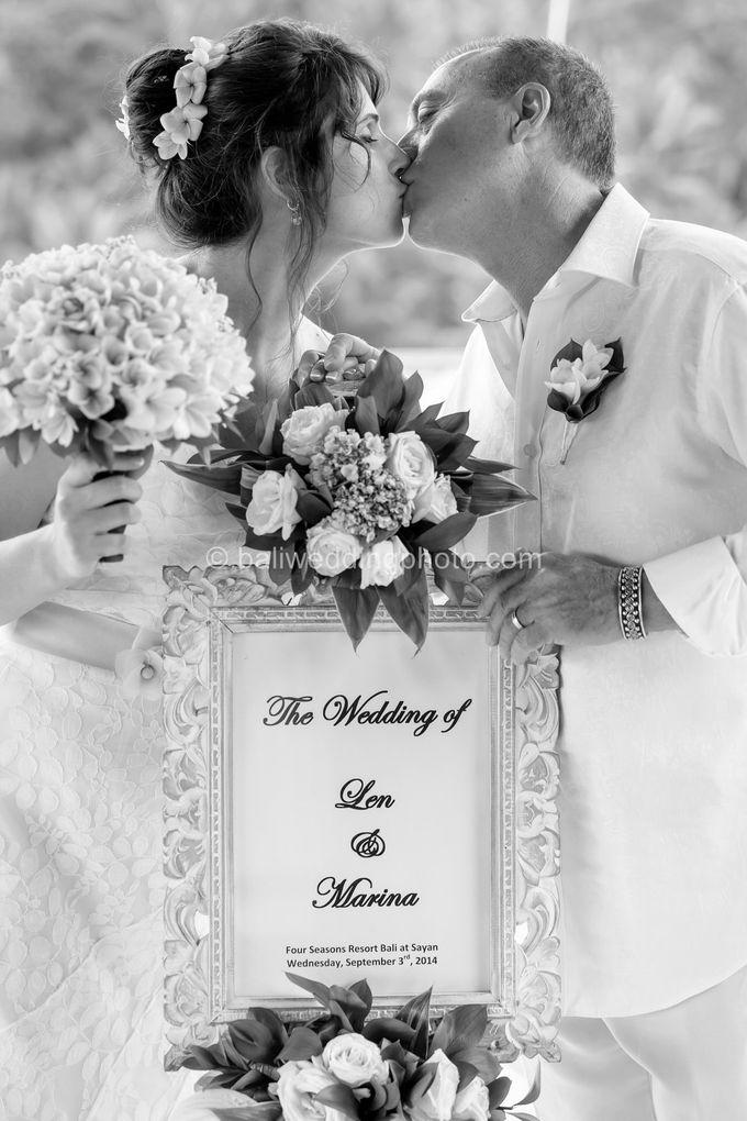 Simple Wedding Len & Marina by D'studio Photography Bali - 022