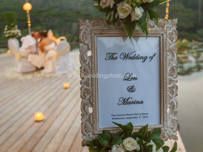 Simple Wedding Len & Marina by D'studio Photography Bali - 045