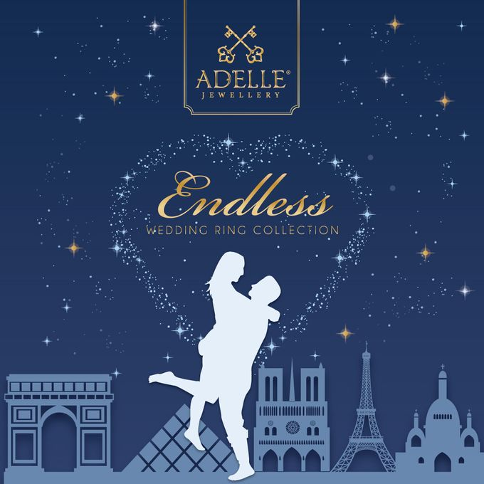 Endless Wedding Ring Collection by Adelle Jewellery - 001