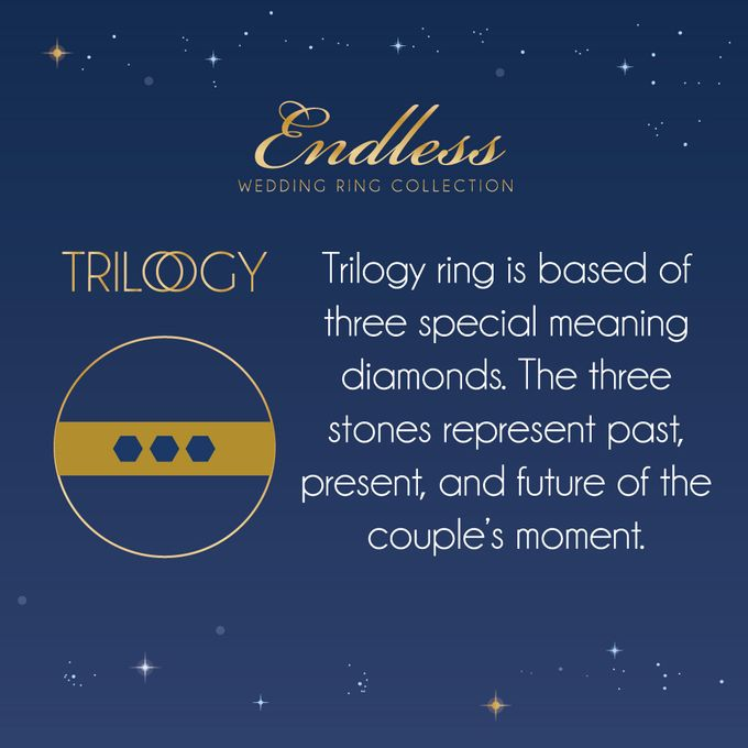 Endless Wedding Ring Collection by Adelle Jewellery - 013
