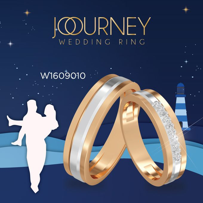 Endless Wedding Ring Collection by Adelle Jewellery - 018