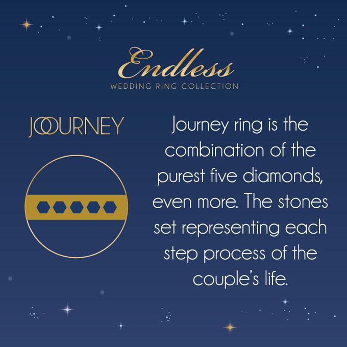 Endless Wedding Ring Collection by Adelle Jewellery - 019