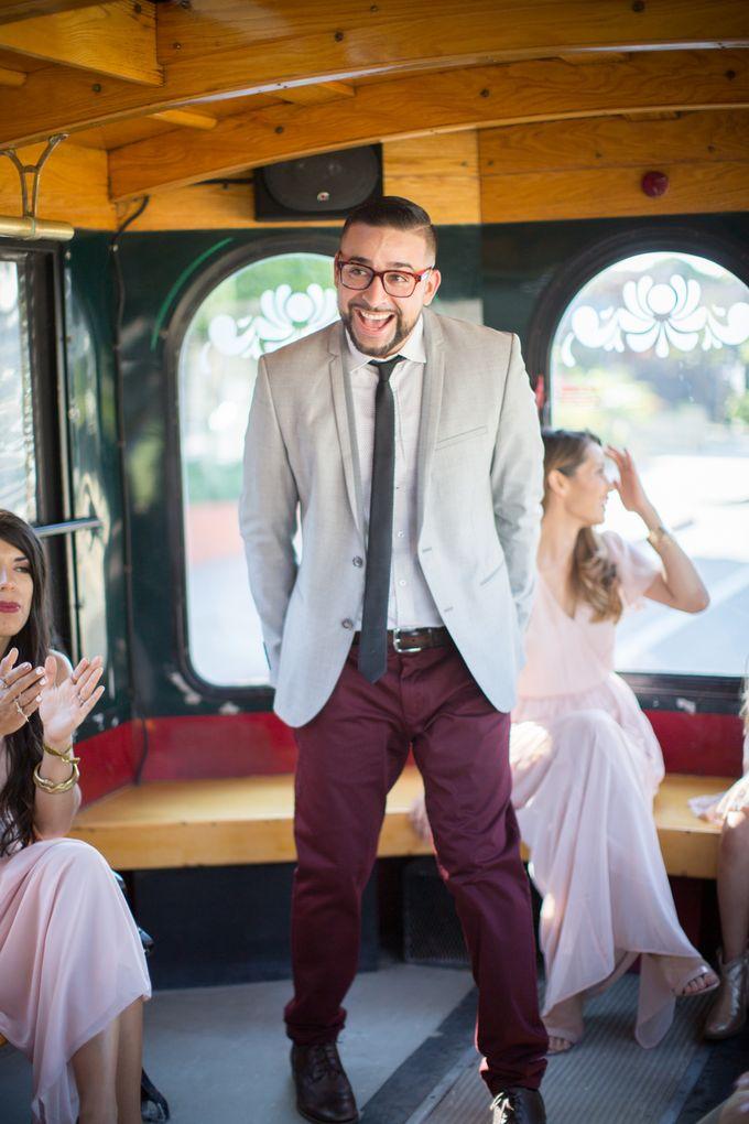 Fashion forward couple's destination wedding at The Montecito Country club in Santa Barbara, California by Kiel Rucker Photography - 021