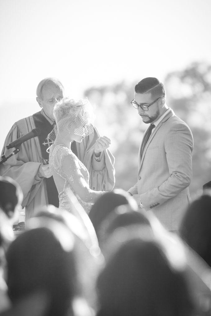 Fashion forward couple's destination wedding at The Montecito Country club in Santa Barbara, California by Kiel Rucker Photography - 027