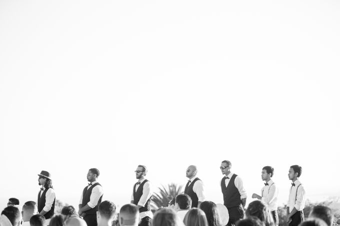 Fashion forward couple's destination wedding at The Montecito Country club in Santa Barbara, California by Kiel Rucker Photography - 028