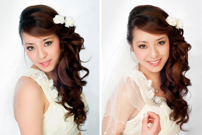 Wedding | Hair Styling by Felicia Sarwono Makeup Art - 016
