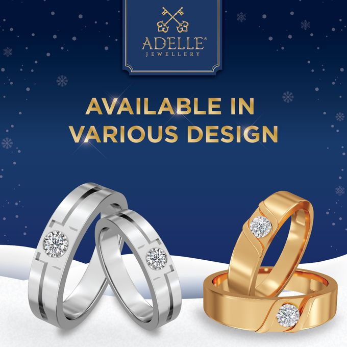 Crown Wedding Ring by Adelle Jewellery - 004