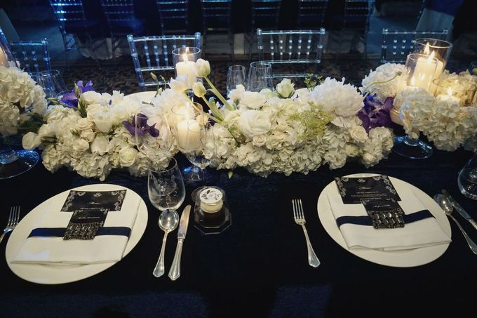 Fifty Shades of Blue by The Wedding Atelier - 003
