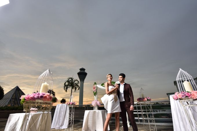 Wedding at the rooftop by Sama-Sama Hotel - 005