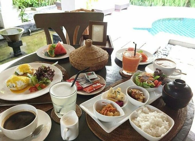 Dining by Villa de daun - 004