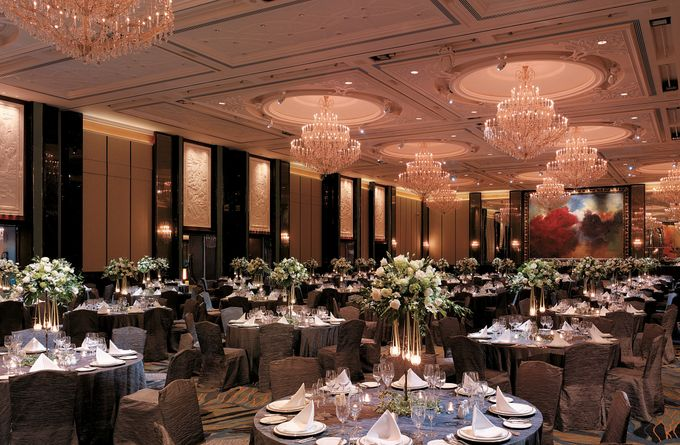 Wedding Theme by Shangri-La Hotel Singapore - 008