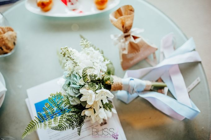Beautiful wedding of Joanna and Raymond at Vana Belle Luxuary Collection Resort Koh Samui by BLISS Events & Weddings Thailand - 005