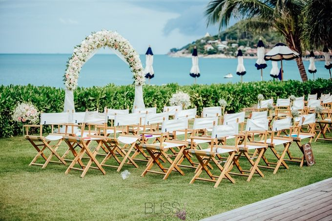 Beautiful wedding of Joanna and Raymond at Vana Belle Luxuary Collection Resort Koh Samui by BLISS Events & Weddings Thailand - 006