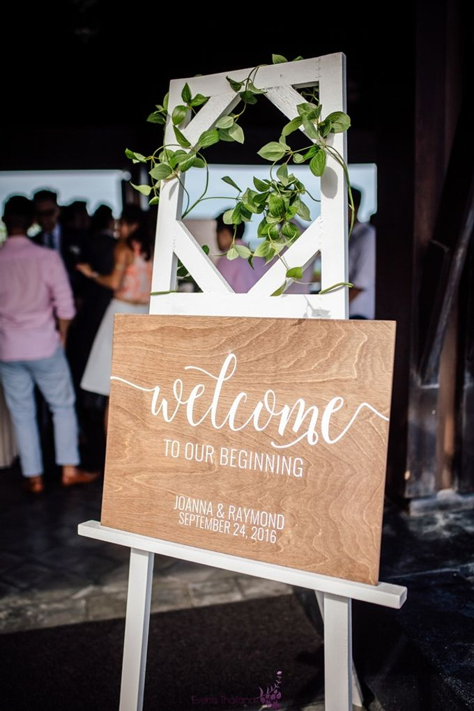 Beautiful wedding of Joanna and Raymond at Vana Belle Luxuary Collection Resort Koh Samui by BLISS Events & Weddings Thailand - 002