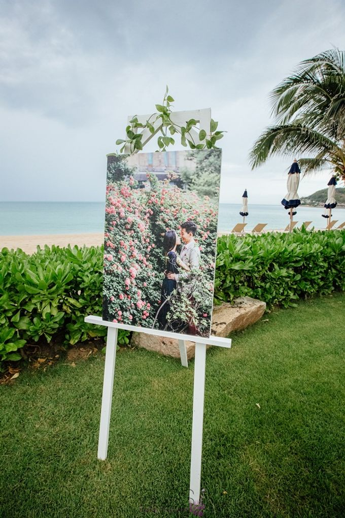 Beautiful wedding of Joanna and Raymond at Vana Belle Luxuary Collection Resort Koh Samui by BLISS Events & Weddings Thailand - 009