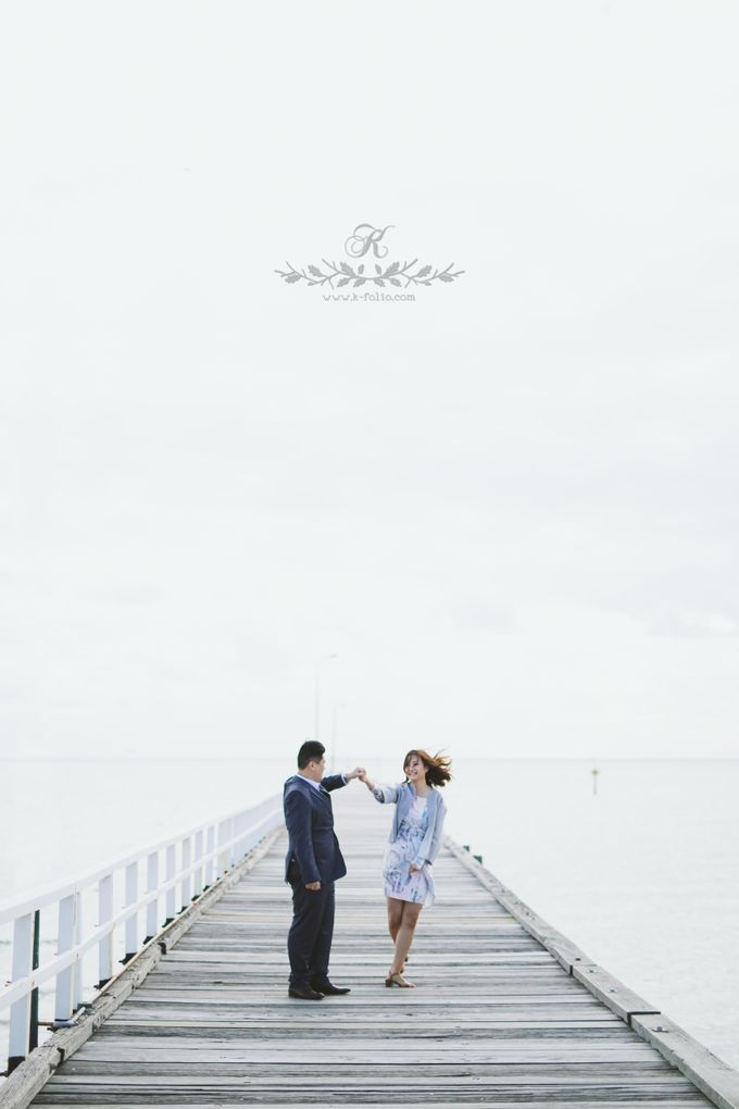 Pre wedding with Jenny & Allan by k folio photography - 009