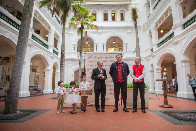 Wedding of Atli & Joey @ Halia at Raffles Hotel by The Halia - 015