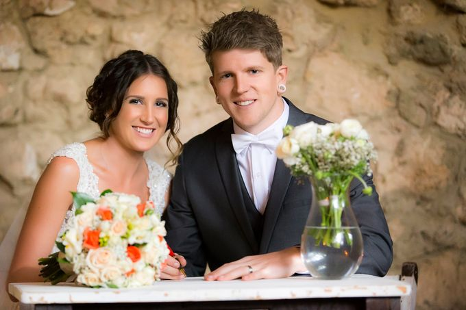Jess & Brad by Carte Blanche Wedding Design - 008