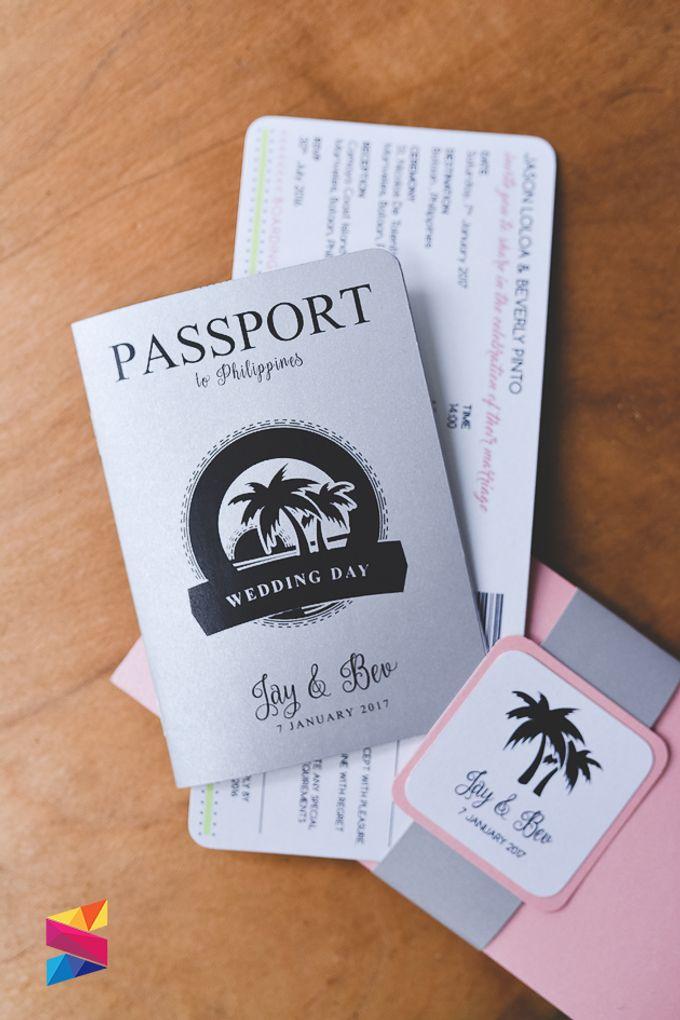 Passport Wedding Invitation by Stunro CreativeWorks | Bridestory.com