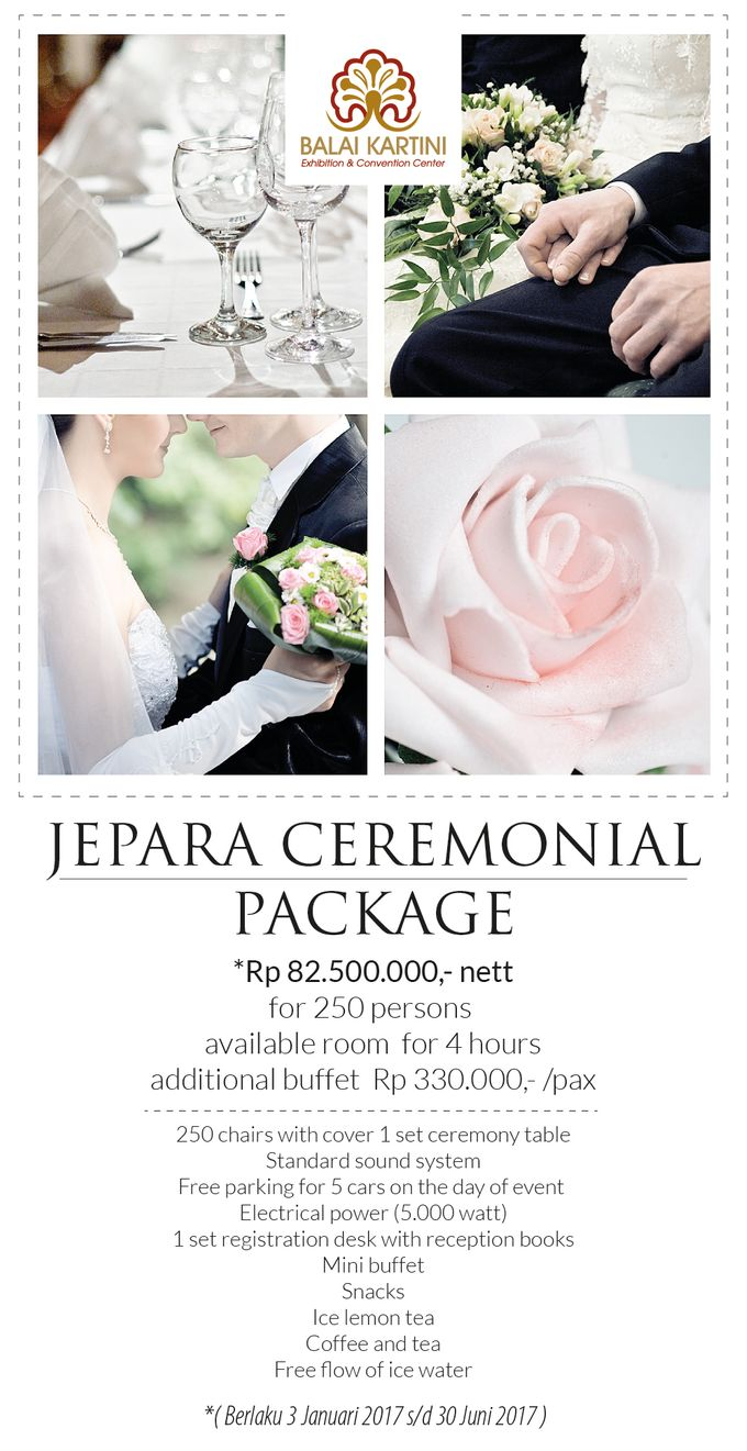 Wedding Promo by BALAI KARTINI - Exhibition and Convention Center - 001