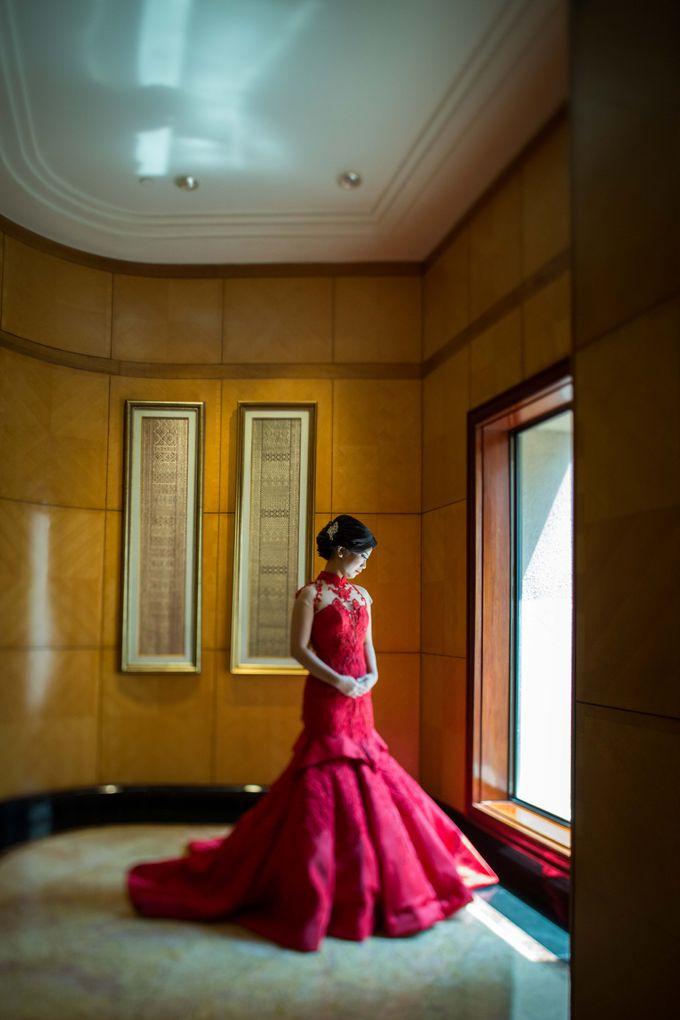 The engagement of Jessica & Hans at Lung Yuan Restaurant by Sheraton Surabaya Hotel & Towers - 006