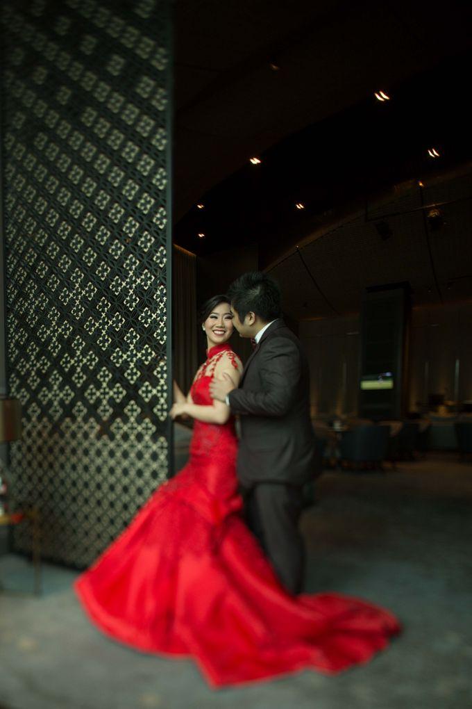 The engagement of Jessica & Hans at Lung Yuan Restaurant by Sheraton Surabaya Hotel & Towers - 008