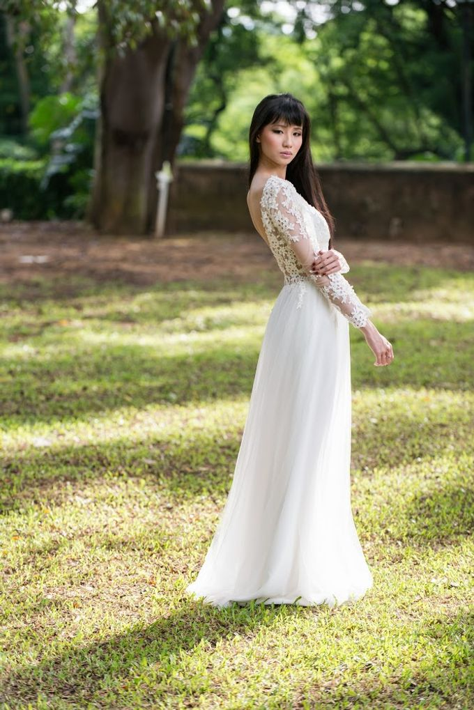 Vivian Gown - 2014 New Collection by Bernice Low Makeup Artist.Hair ...