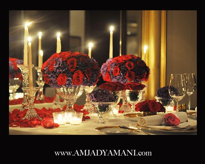 Romantic Dinner by AMJAD YAMANI wedding designer - 004