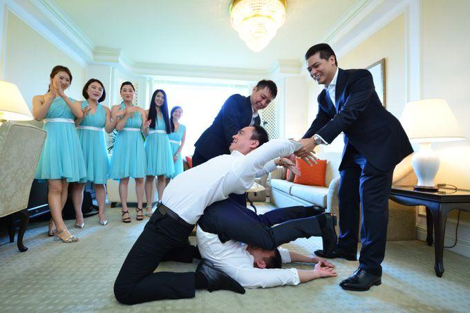 Wedding of Jonathan and Sunghye by Shangri-La Hotel Singapore - 048