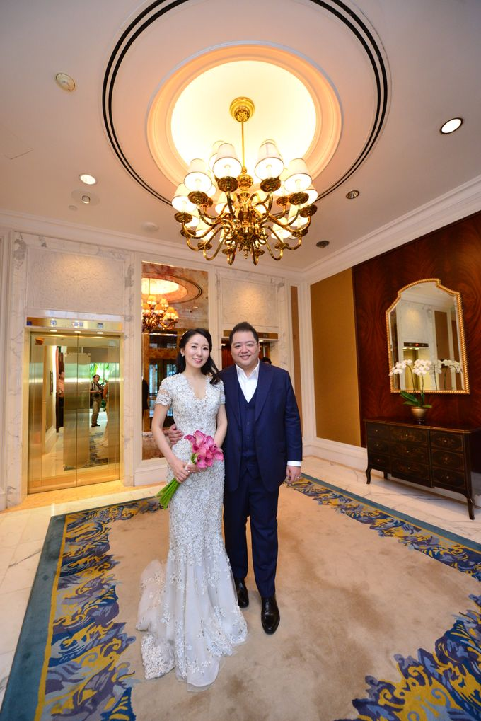 Wedding of Jonathan and Sunghye by Shangri-La Hotel Singapore - 014