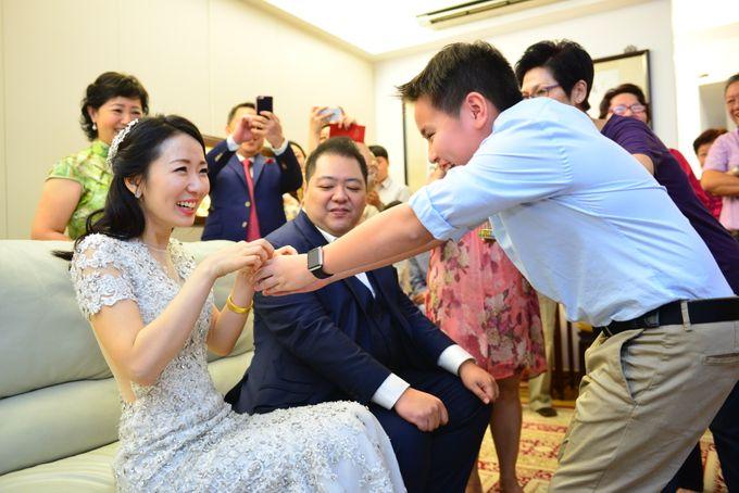 Wedding of Jonathan and Sunghye by Shangri-La Hotel Singapore - 022