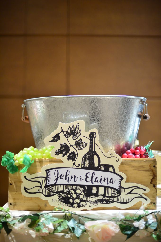 Wedding of  John & Elaina by Rosette Designs & Co - 015