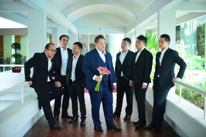 Wedding of Jonathan and Sunghye by Shangri-La Hotel Singapore - 037