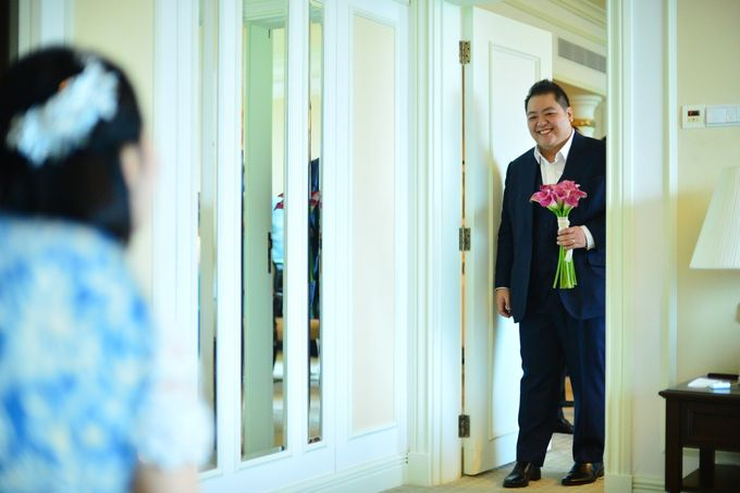Wedding of Jonathan and Sunghye by Shangri-La Hotel Singapore - 041
